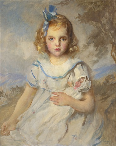 my favorite doll by edmund charles tarbell