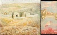 paesaggio (+ paesaggio; 2 works) by alvaro peppoloni