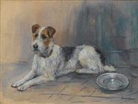 fox terrier by marion rodger hamilton harvey