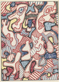 affairements by jean dubuffet