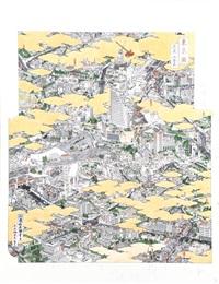tokei: hiroo and roppongi (+ tokei: roppongi hills, smllr; 2 works) by akira yamaguchi