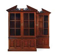 bookcase (+ bookcase; pair) by arthur brett
