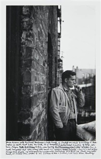 heroic portrait of jack kerouac, new york by allen ginsberg