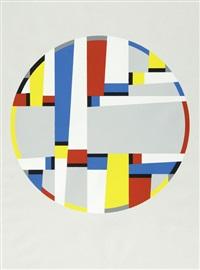 letzte werke (portfolio of 3) by fritz glarner