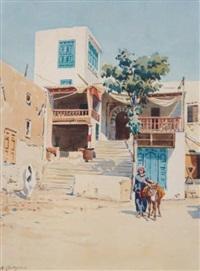 le café des nattes à sidi bou saïd by michele cortegiani