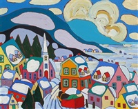 quebecois village by terry ananny