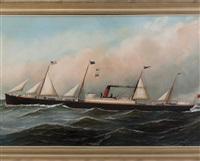 "the british steamship ""manitoba by antonio jacobsen"