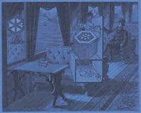 monsieur claude by joseph cornell