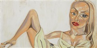 jerry hall by francesco clemente