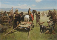following the buffalo by z.s. liang