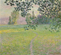 paysage de matin by claude monet