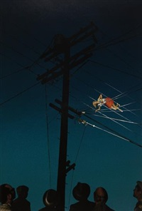 7:12pm,redcliff ave and eye #10 (telephone wires) by alex prager