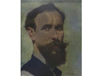 self portrait by adolphe valette