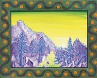 trinity, ca landscape by kenny scharf