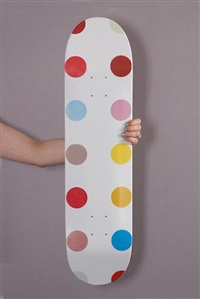 dot #5 by damien hirst