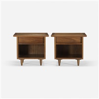 nightstands (pair) by george nakashima