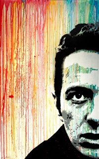 joe strummer by jef aerosol