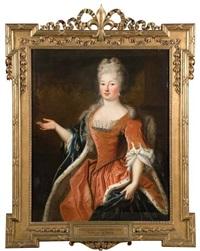 portrait de marie louise elisabeth d'orléans, duchesse de berry (1695-1719) by pierre gobert