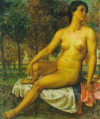 nudo femminile by lino baccarini