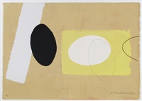orange & lemon playing games (series no.2) by wilhelmina barns-graham