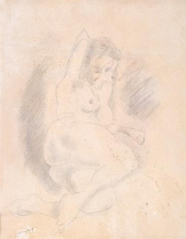 portrait of lucy krohg by jules pascin