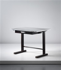 cité desk (from the cité universitaire, nancy) by jean prouvé