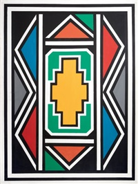 sans titre by esther mahlangu