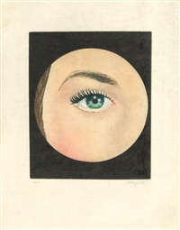 after. l'oeil (from le lien de paille) by rené magritte