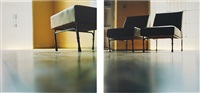 chairs (in 2 parts) by elisa sighicelli