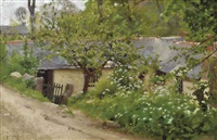 the cabin, lamorna by thomas cooper gotch