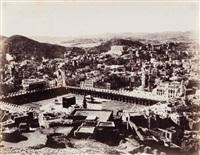 vue sur le haram sacré et sur la partie nord de la mecque by christian snouck hurgronje