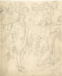 johannes der täufer by peter von cornelius