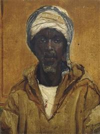 portrait of a moor by jan baptist huysmans