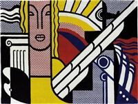 modern tapestry by roy lichtenstein