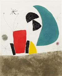 pl.8 from 'espriu - miro' by joan miró