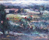 paysage by elemer vagh-weinmann