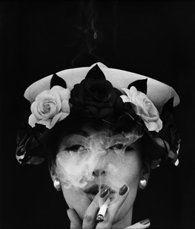 hat five roses paris vogue by william klein