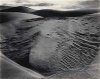 dunes, oceano, 1936 by edward weston