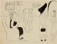 the art show by james thurber