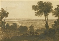 chester - a distant view by joseph mallord william turner