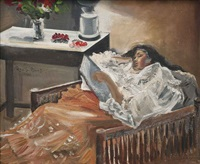 sleeping girl by federico aguilar alcuaz