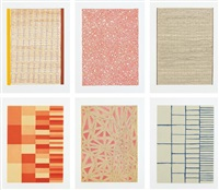untitled (set of 6) by james siena