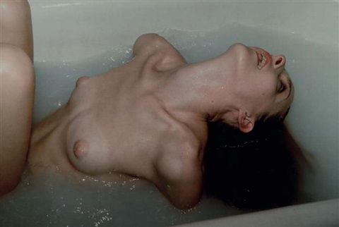 greer in her tub greer dans son bain nyc by nan goldin