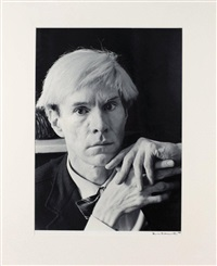 andy warhol by hans namuth