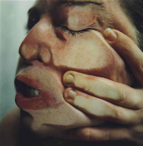 closed contact no14 by jenny saville