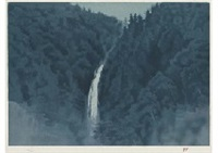 sound of waterfall by shinkichi (kaii) higashiyama