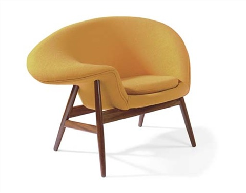 fried egg chair by hans olsen