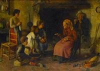 the story teller by luigi agristi