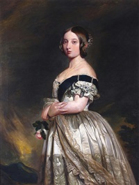 portrait of queen victoria by franz xaver winterhalter