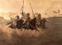arab warriors by albert rosati